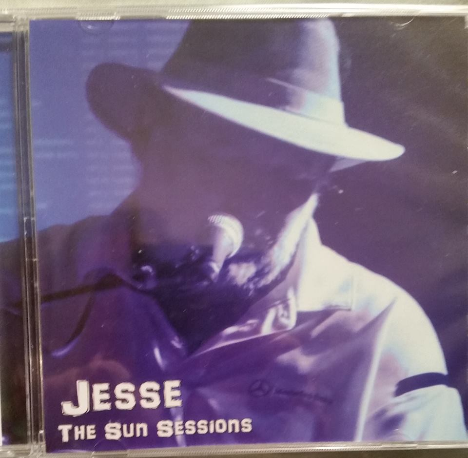Jesse The Sun Session Front